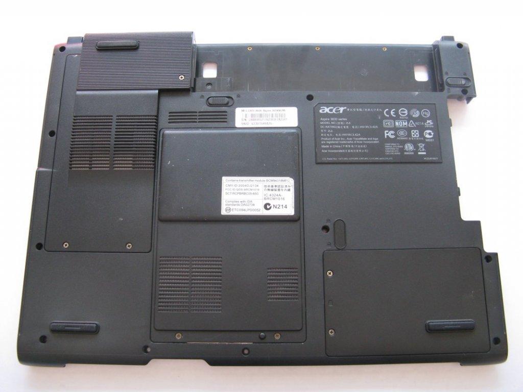 Spodní kryt pro Acer Aspire 3634WLMi