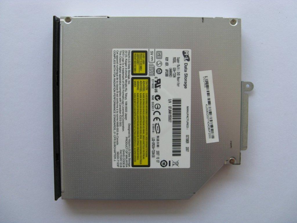 DVD vypalovačka pro Acer TravelMate 7520