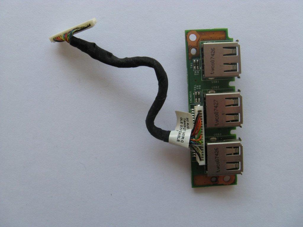 USB konektory pro Acer TravelMate 7520