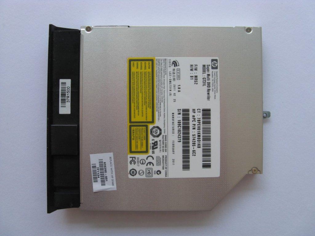 DVD vypalovačka pro HP Pavilion g6-1010sc