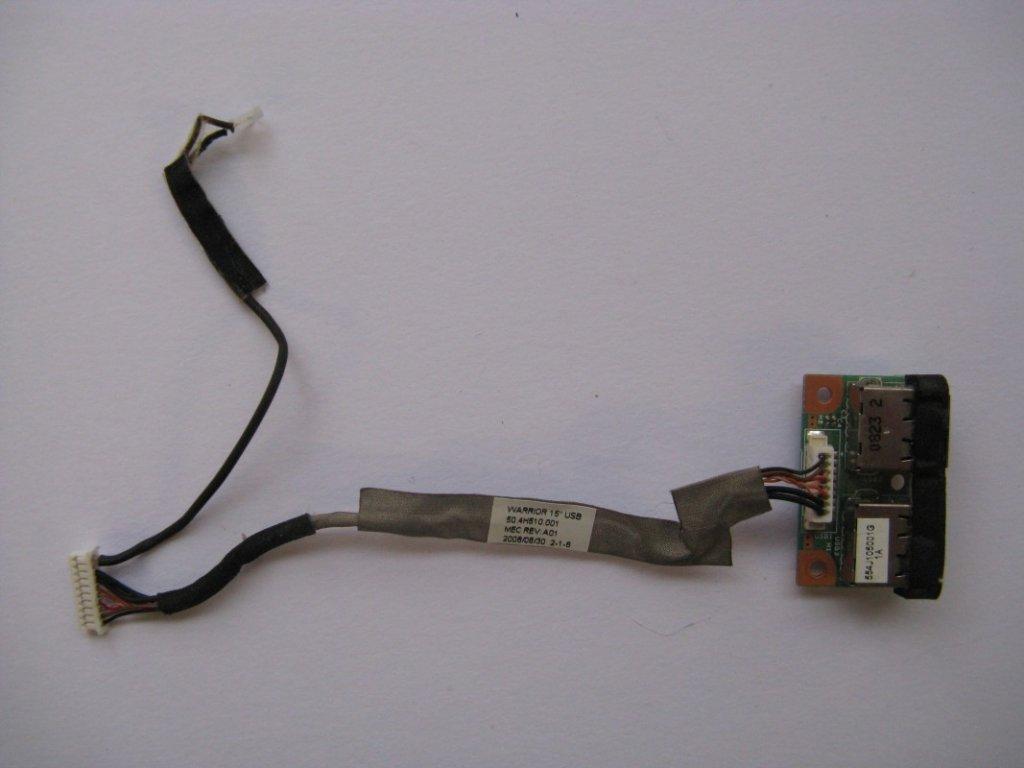 USB konektory pro HP CompaQ Presario CQ50