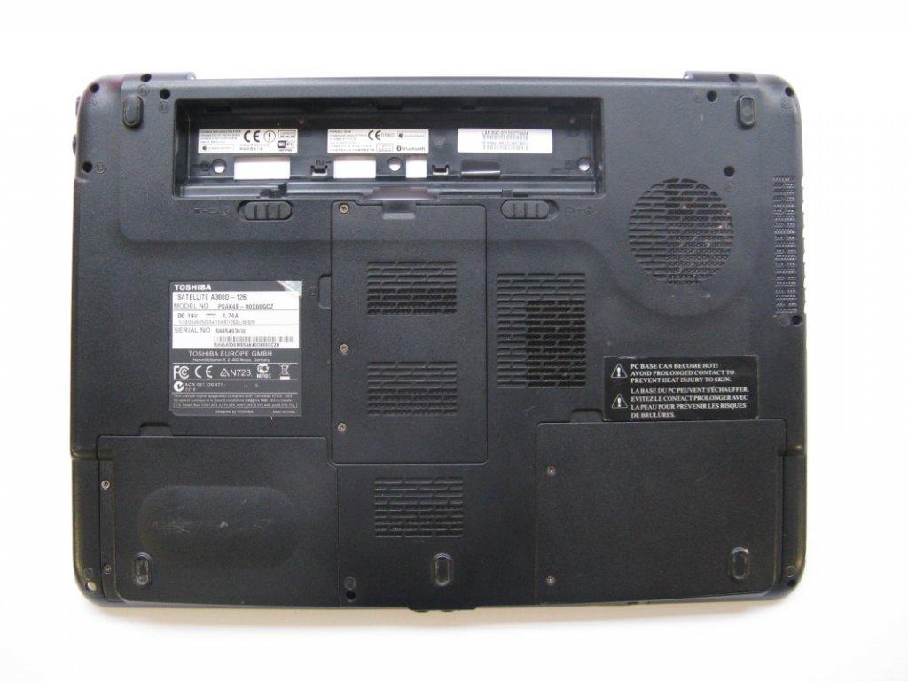 Spodní kryt pro Toshiba Satellite A300D-126