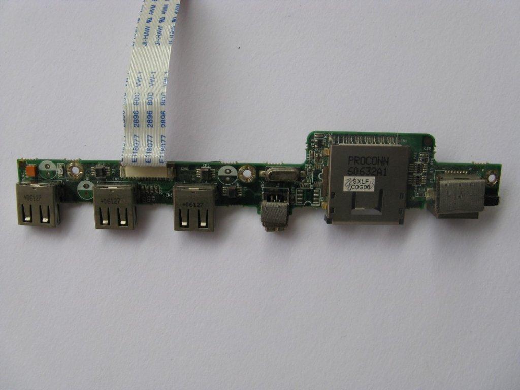 USB konektory pro Fujitsu-Siemens Amilo Xi 1546
