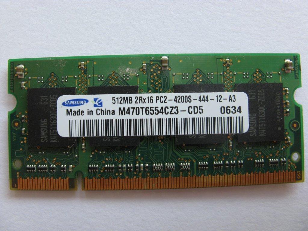 512MB DDR2 533MHz