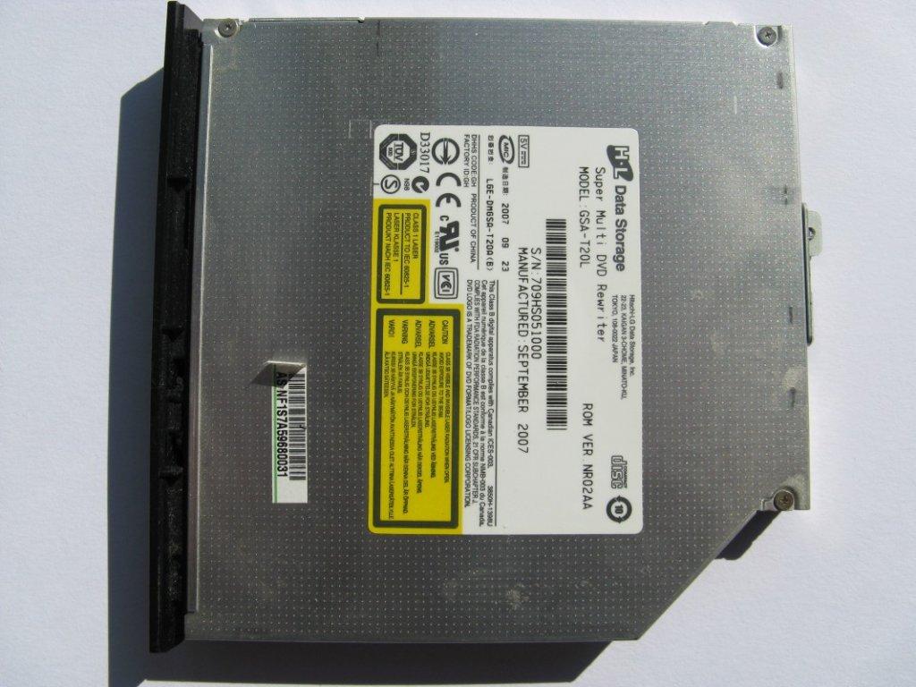 DVD vypalovačka pro Asus F3K