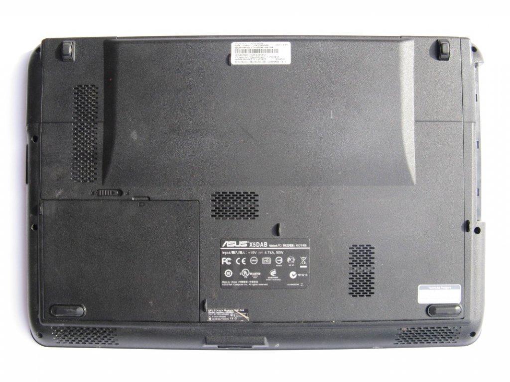 Spodní kryt pro Asus X5DAB