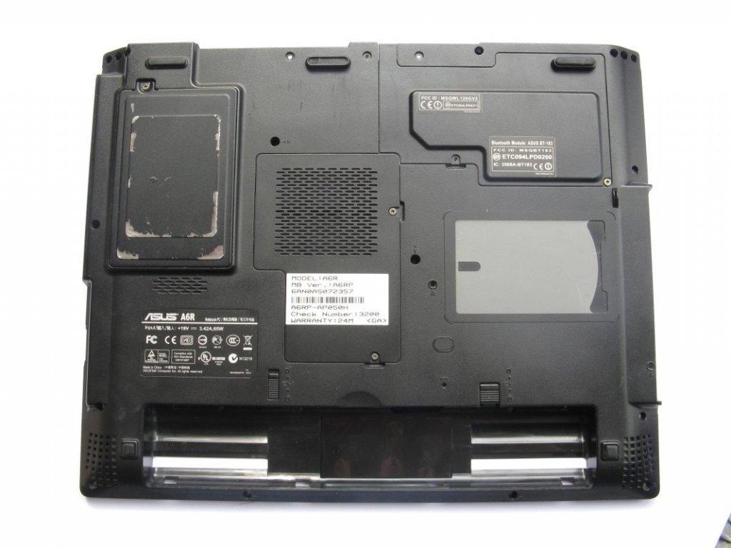 Spodní kryt pro Asus A6R