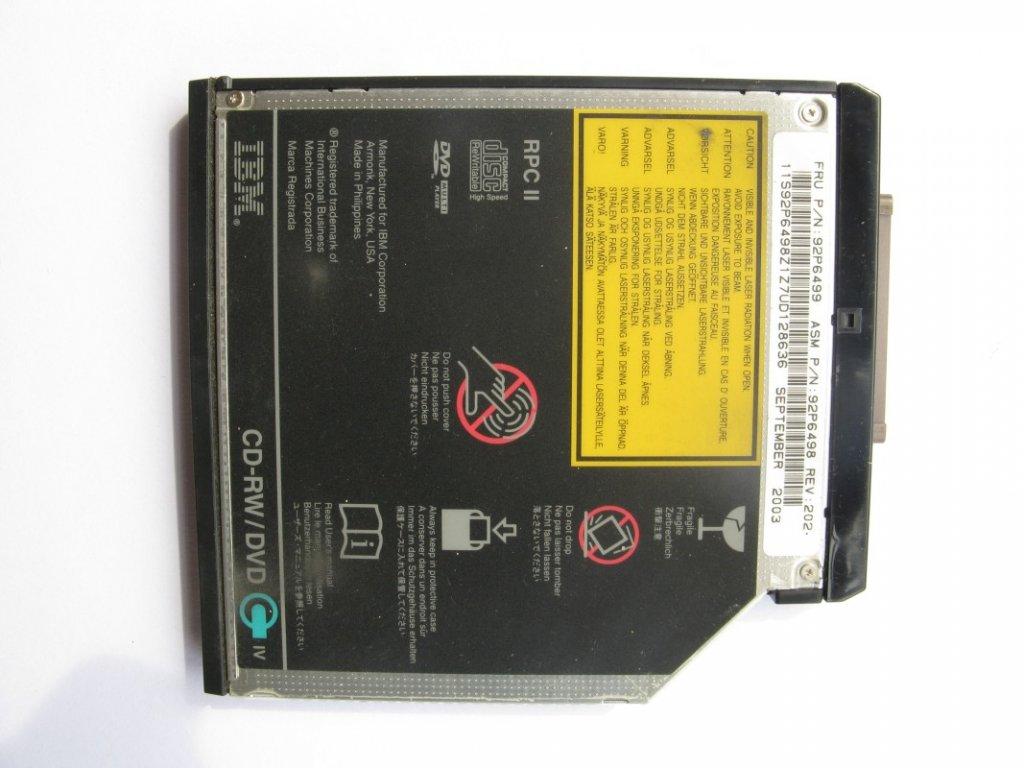 DVD vypalovačka pro IBM ThinkPad R40