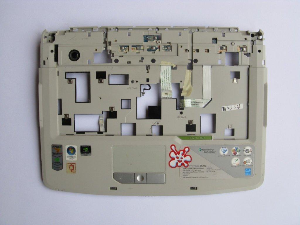 Vrchní kryt pro Acer Aspire 5520G