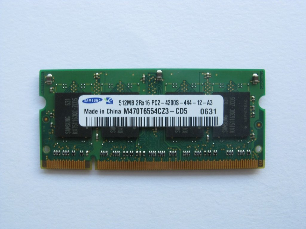 512MB DDR2 533MHz