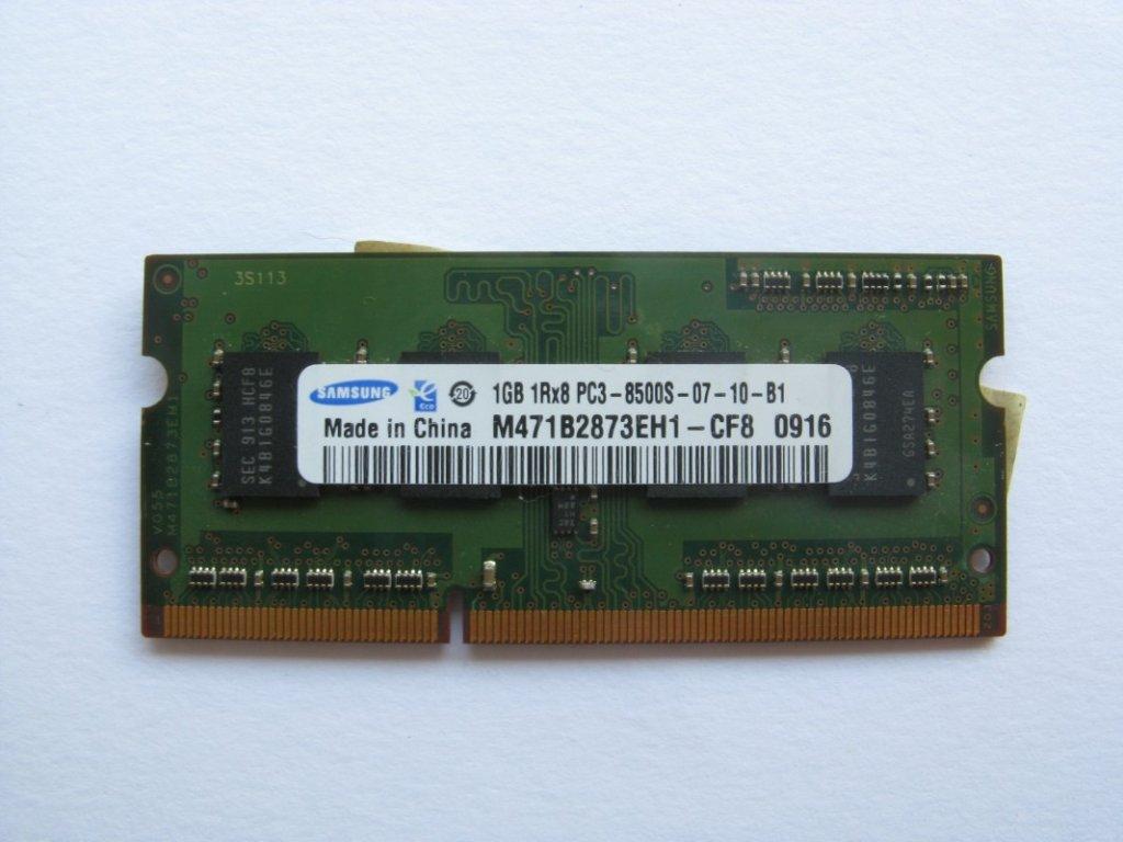 1GB DDR3 1066MHz