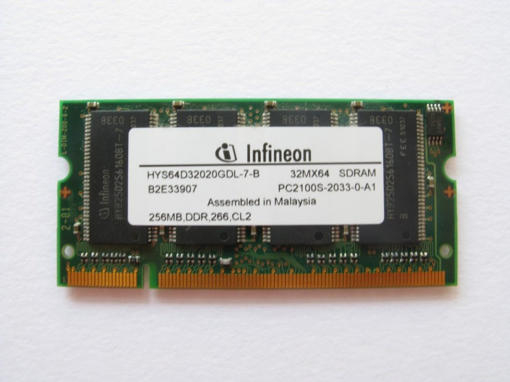 256MB DDR 266MHz