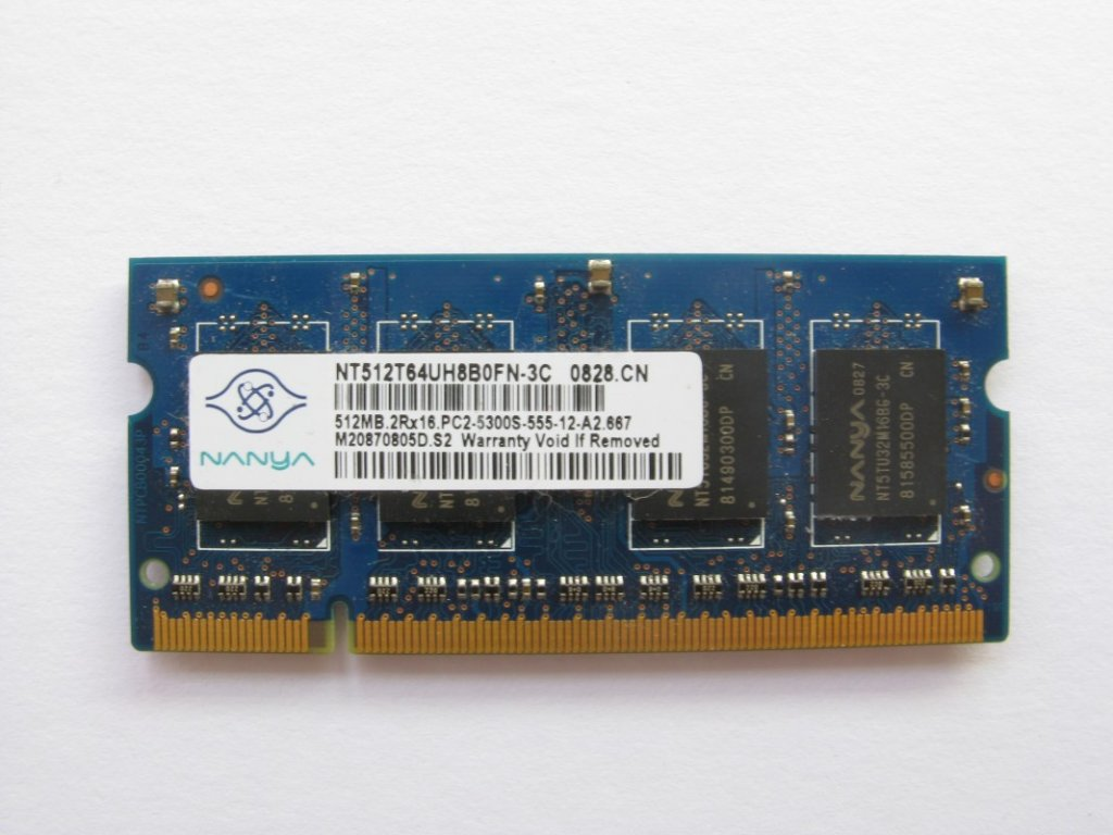 512MB DDR2 667MHz