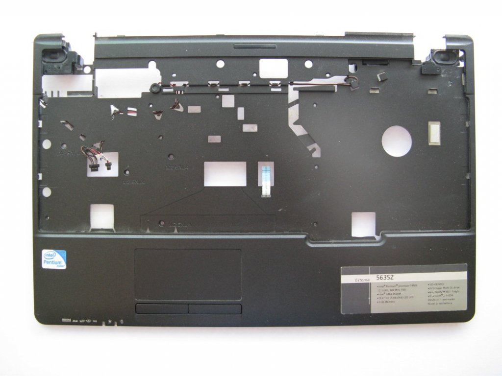 Vrchní kryt pro Acer Extensa 5635