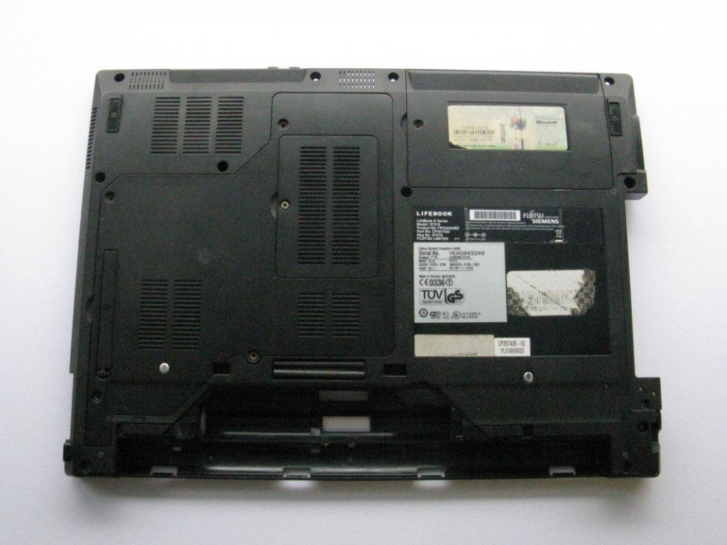 Spodní kryt pro Fujitsu Siemens Lifebook S7210
