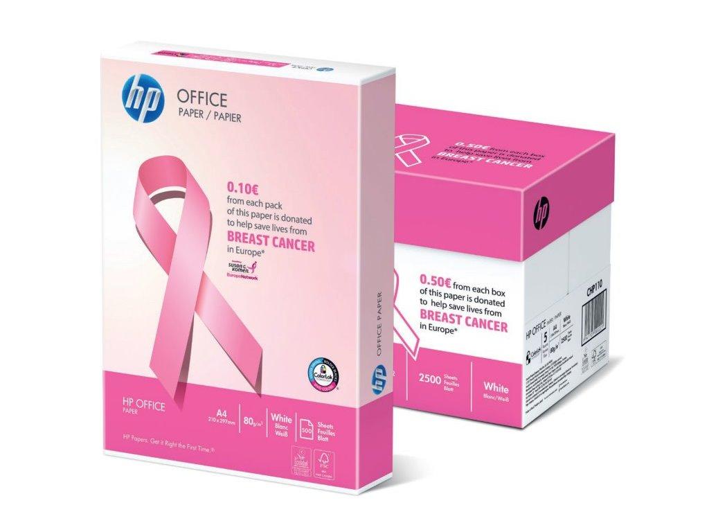 hp office paper pink a4 80g baleni 500 listu
