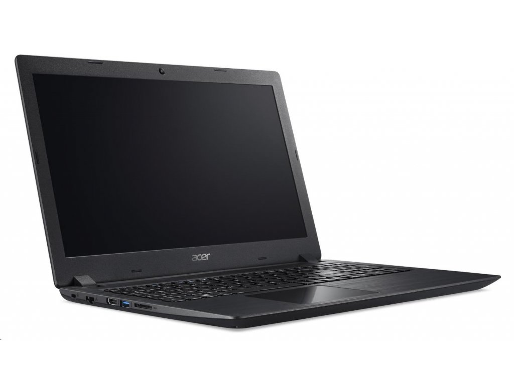 "ACER NTB Aspire 3 (A315-51-55E3) - i5-7200U,15.6"" FHD mat,4GB,256GB SSD,noDVD,HD graphics,2č,cam,W10H,černá NX.GNPEC.006  + 16GB USB disk s užitečnými programy + První pomoc s nastavením notebooku"