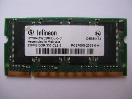 256MB DDR 333MHz