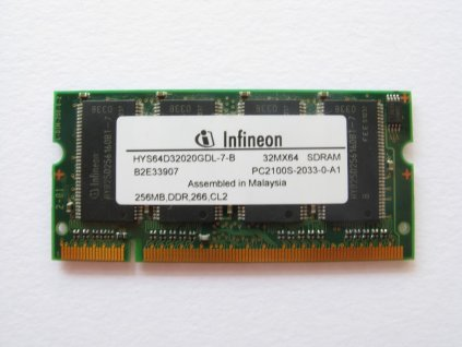 256MB DDR 266MHz