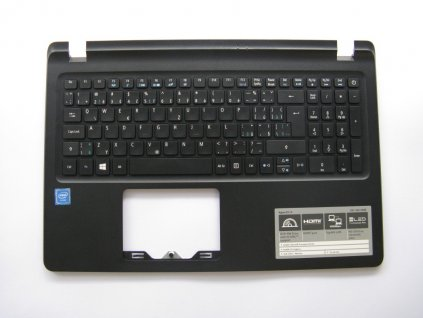 Vrchní kryt a klávesnice pro Acer Aspire ES15 (ES1-533-C95R), NOVÉ