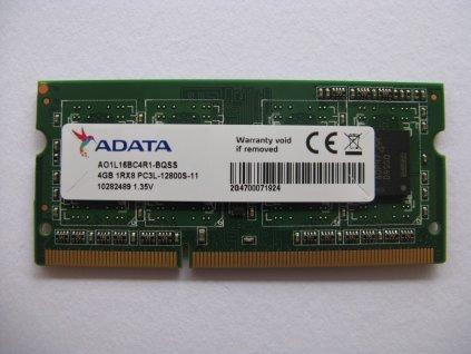 Paměť 4GB DDR3L 1600MHz, NOVÁ