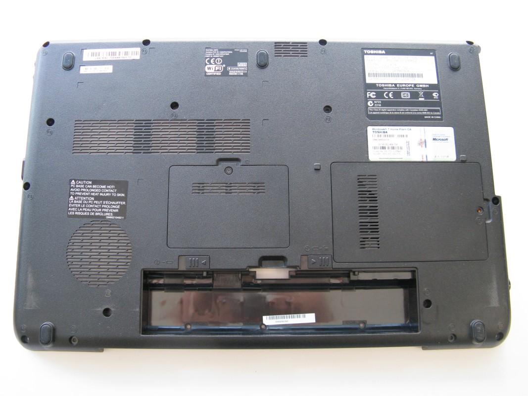 Spodní kryt pro Toshiba Satellite L505-13D