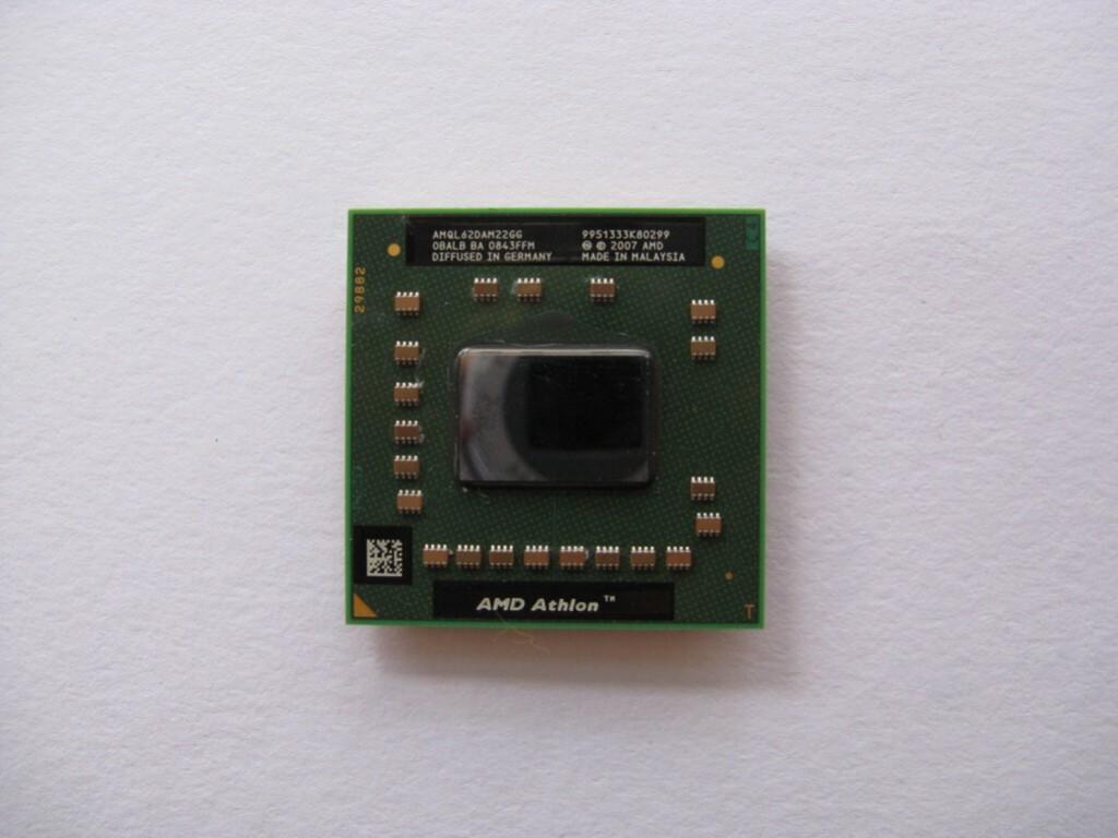 AMD Athlon 64 X2 QL-62, 2.0GHz