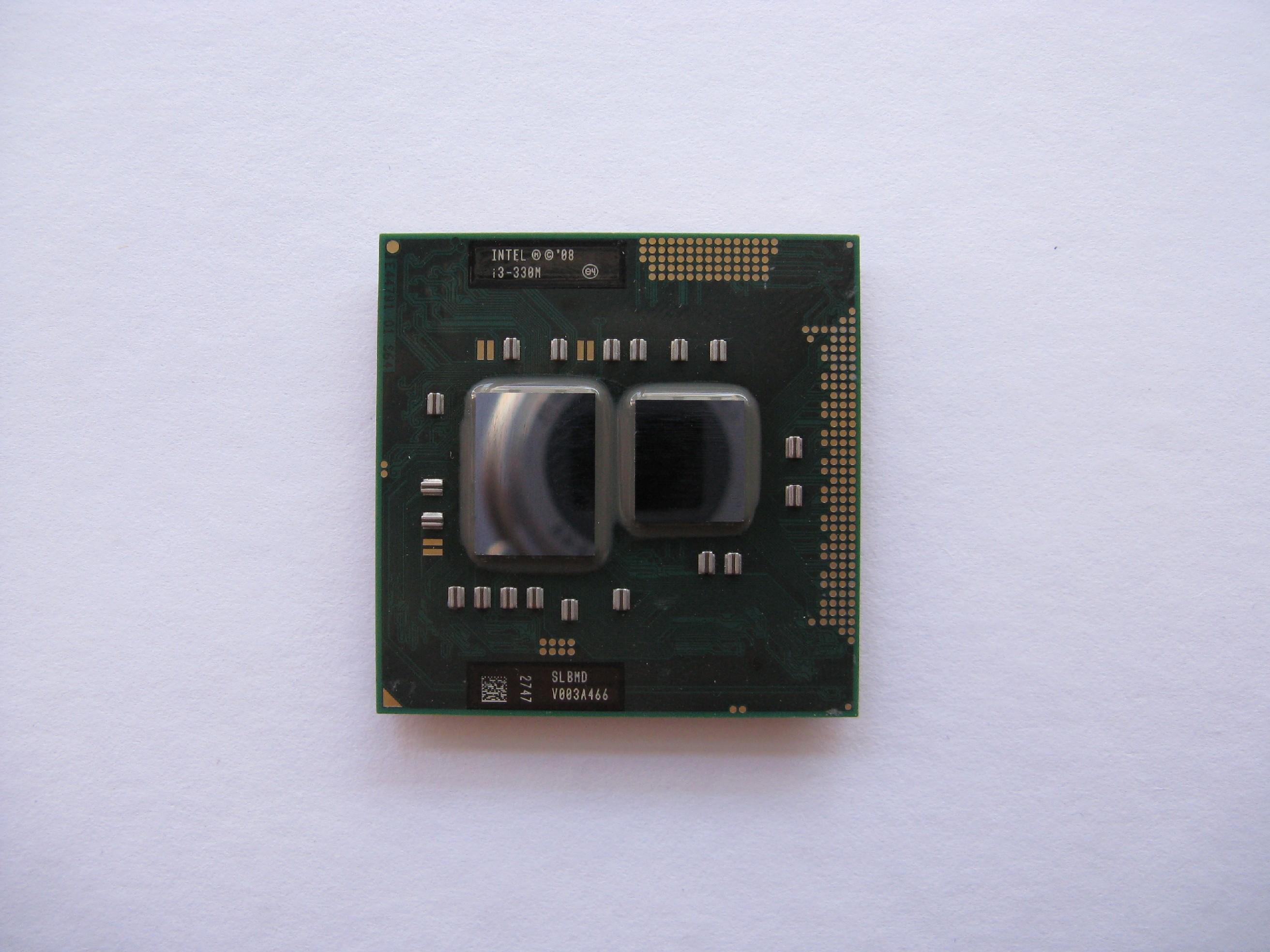 Intel Core i3-330M, 2.13GHz