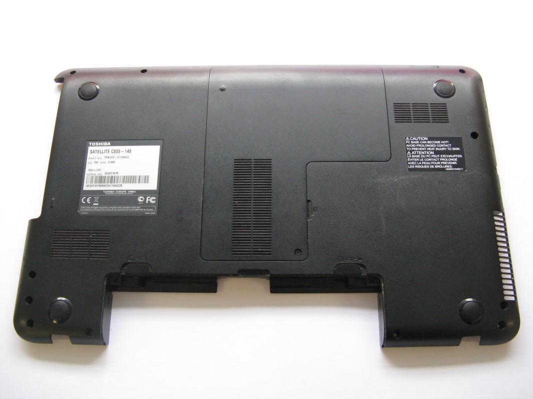 Spodní kryt pro Toshiba Satellite C855-148, NOVÝ