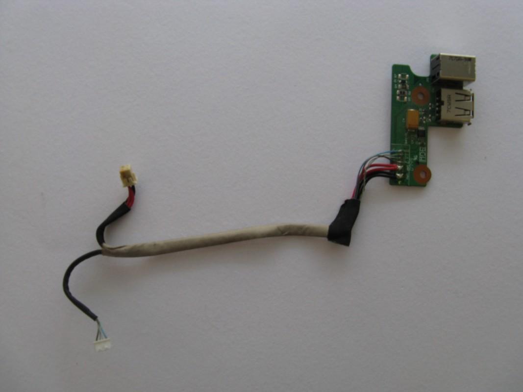 Napájecí konektor a USB pro HP Pavilion DV6700