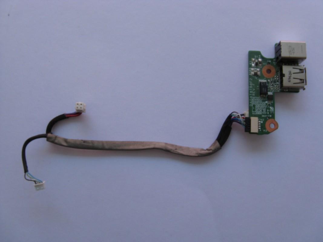 Napájecí konektor a USB pro HP Pavilion DV6000