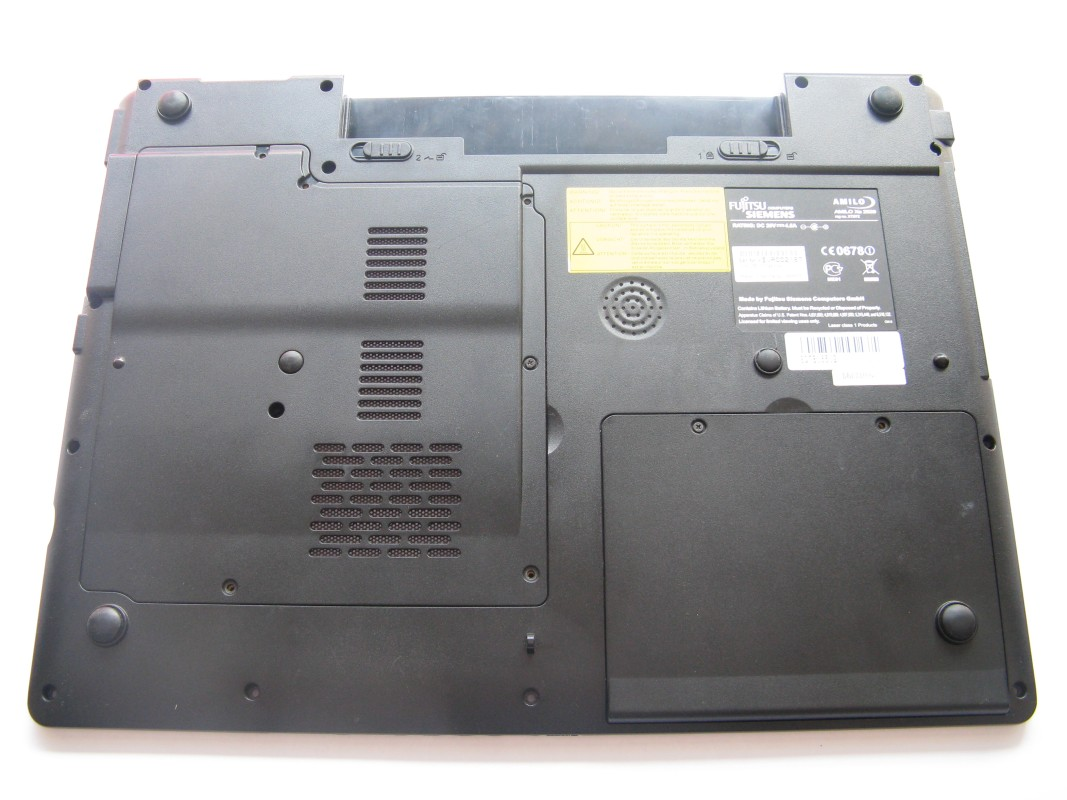 Spodní kryt pro Fujitsu Siemens Amilo XA2529