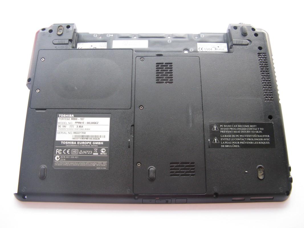 Spodní kryt pro Toshiba Portege M800-107