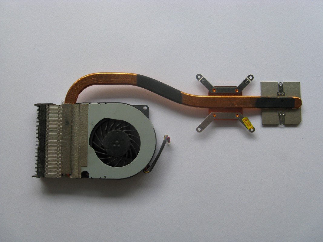 Ventilátor pro Asus K72J