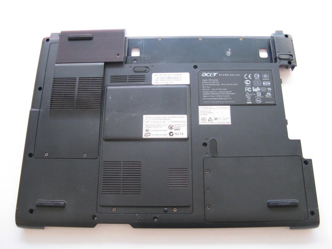 Spodní kryt pro Acer Aspire 1652WLMI