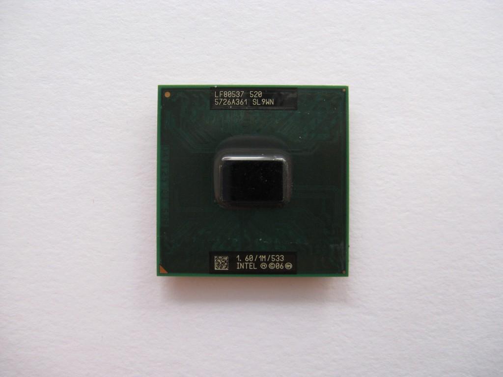 Intel Celeron M 520, 1.6GHz