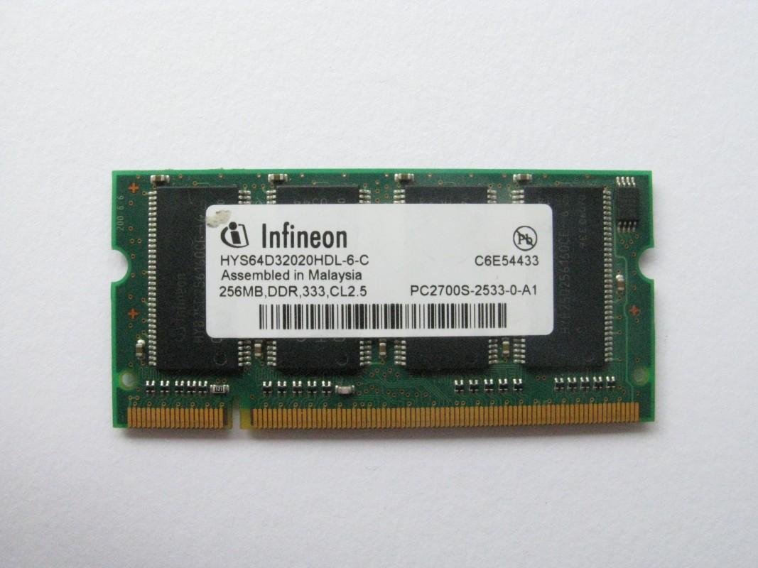 Infineon 256MB DDR 333MHz