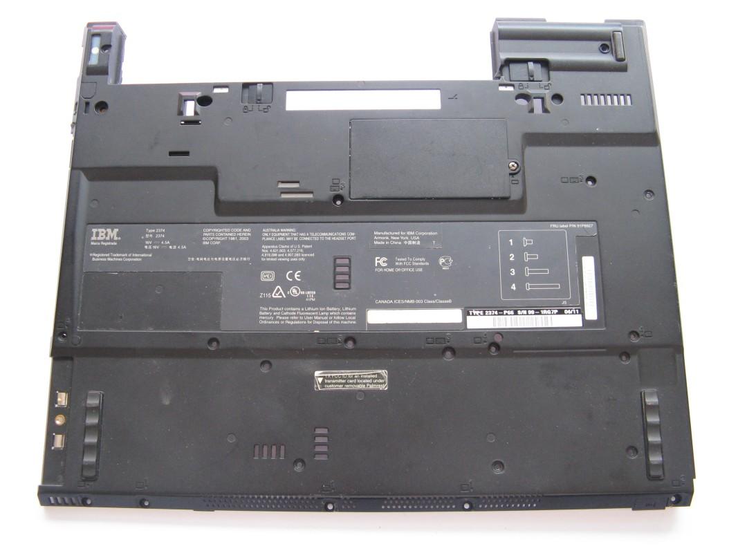 Spodní kryt pro IBM ThinkPad T42