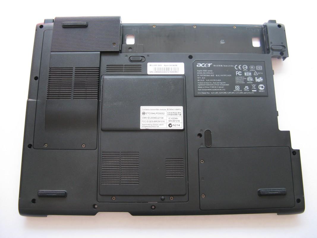 Spodní kryt pro Acer Aspire 3003WLMi