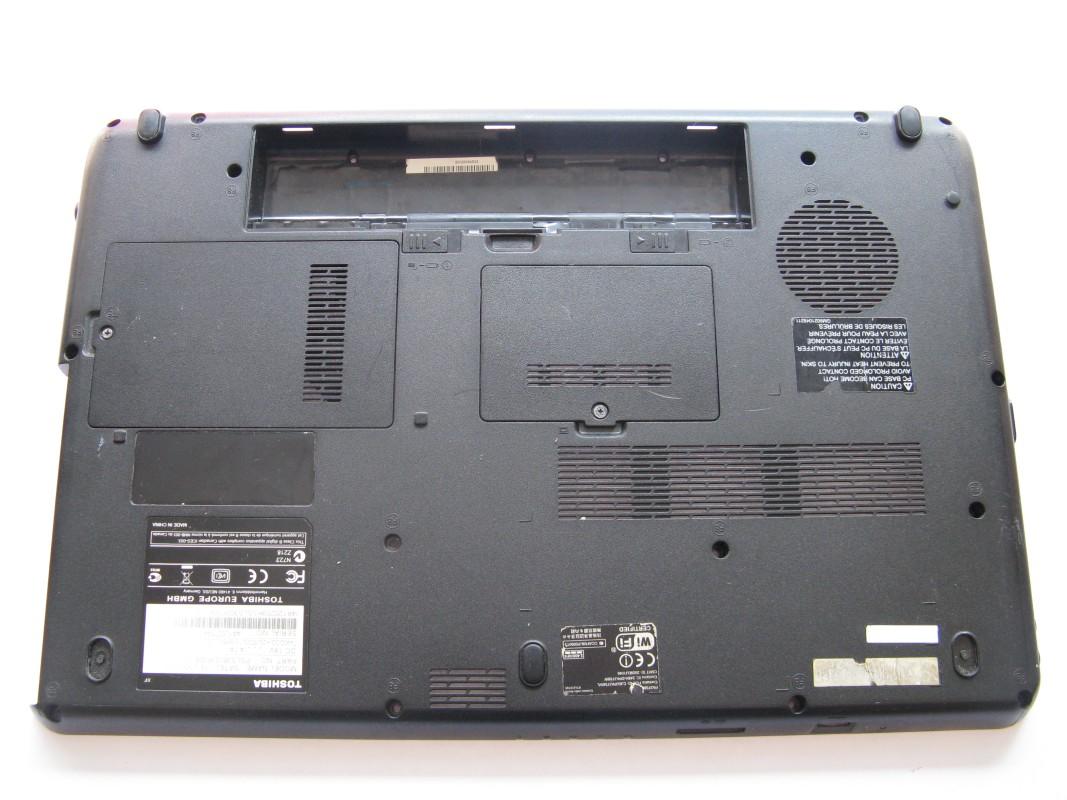 Spodní kryt pro Toshiba Satellite L500-1QE