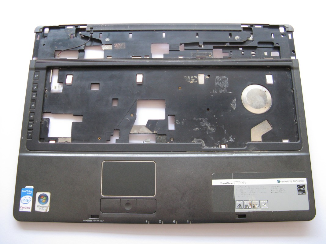 Vrchní kryt pro Acer TravelMate 7720G