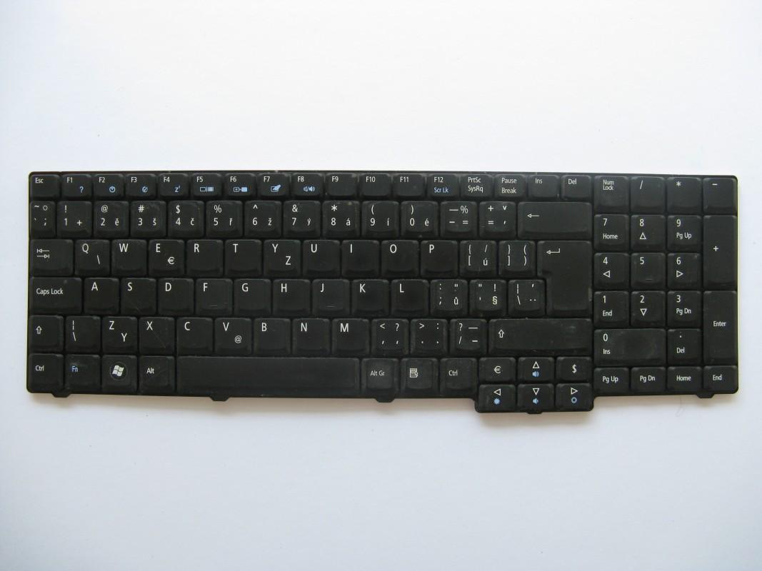 Klávesnice pro Acer TravelMate 7520