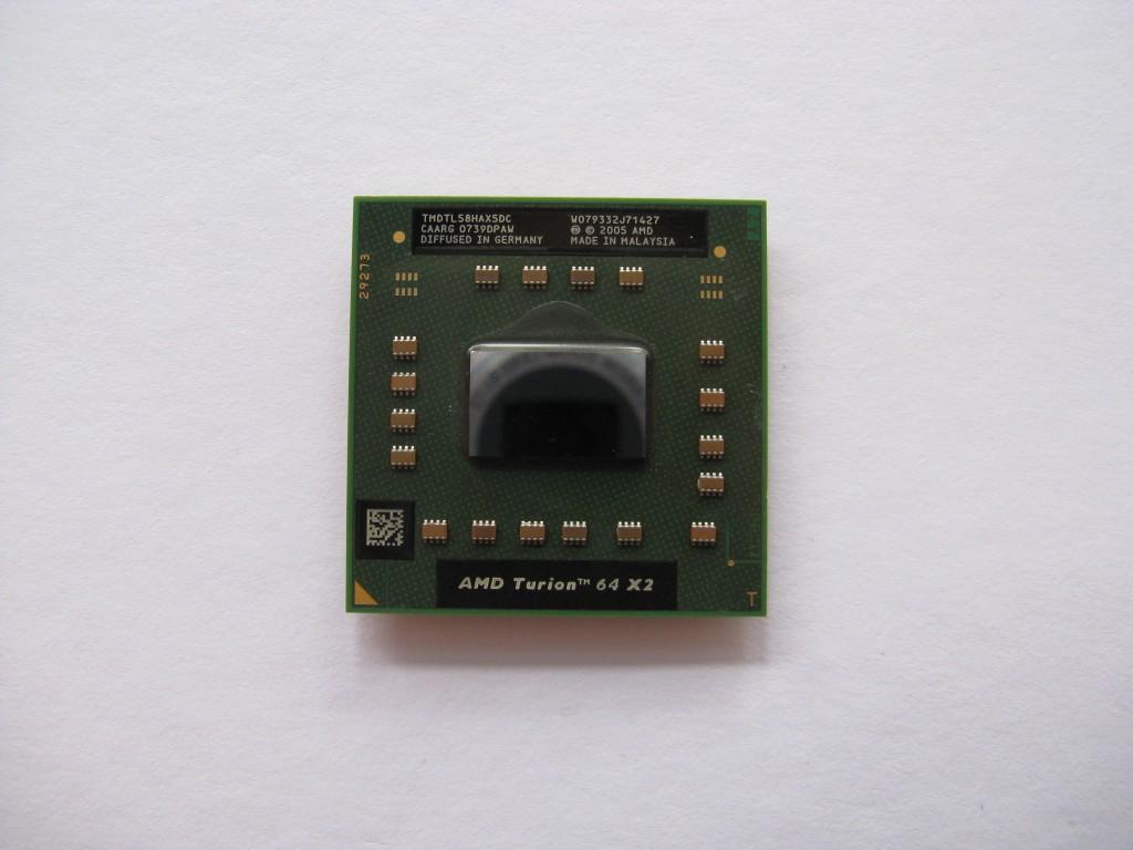 AMD Turion 64 X2 TL-58, 1.9GHz