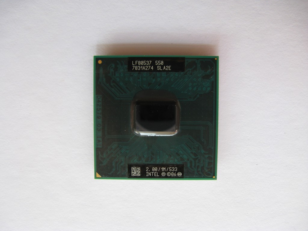 Intel Celeron M 550, 2GHz