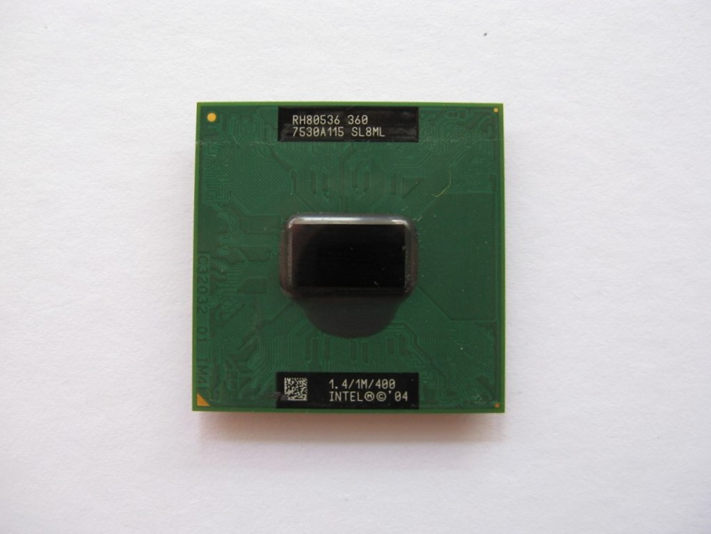 Intel Celeron M 360J, 1.4GHz