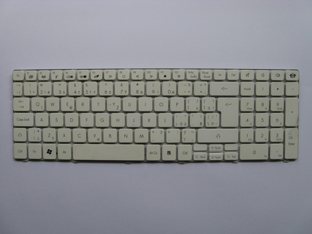 Klávesnice pro Packard Bell EasyNote TM94
