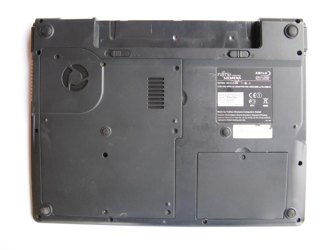 Spodní kryt pro Fujitsu Siemens Amilo L1310G