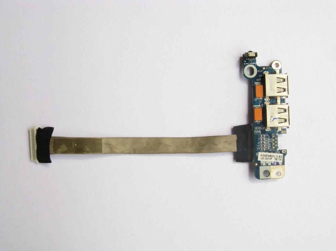 USB konektory pro Acer Aspire 5520G