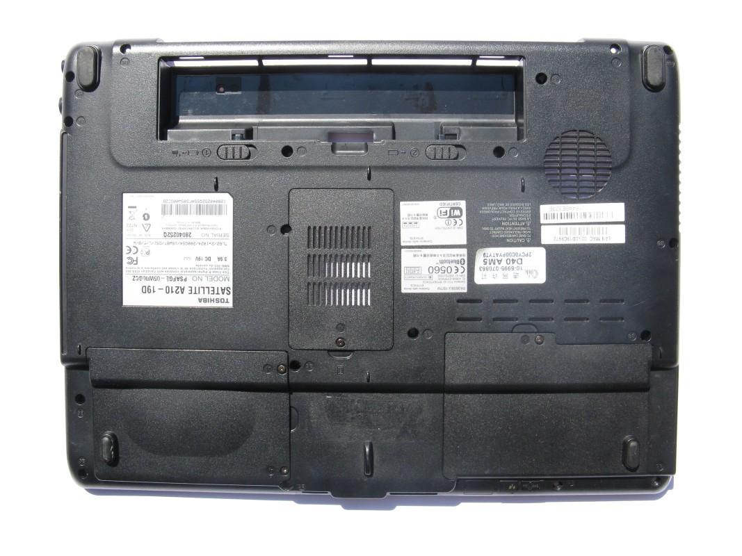 Spodní kryt pro Toshiba Satellite A210-19D