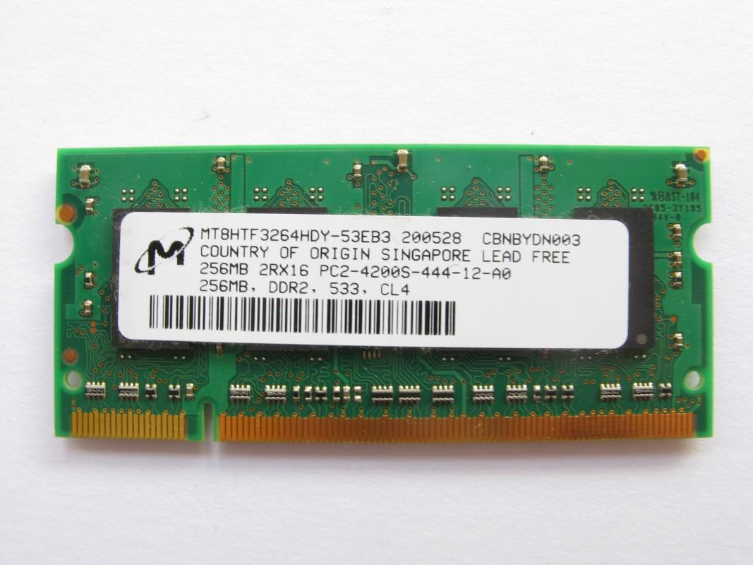 256MB DDR2 533MHz